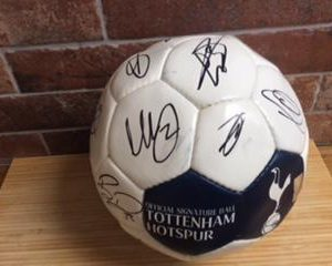 Tottenham FC Signed Football